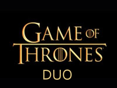 TeamUp - Game of Thrones Duo