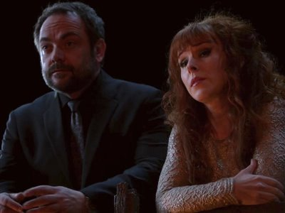 TeamUp - Supernatural - Crowley and Rowena