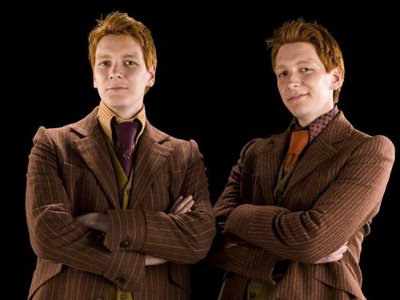 TeamUp - Weasley Twins James & Oliver Phelps
