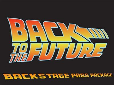 BttF VIP Backstage Pass Package