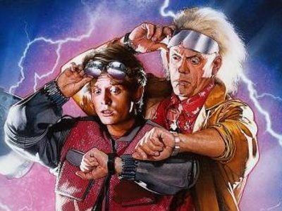 BttF: Doc and Marty Photo Op