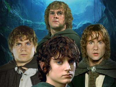 TeamUp - LotR: The Four Hobbits